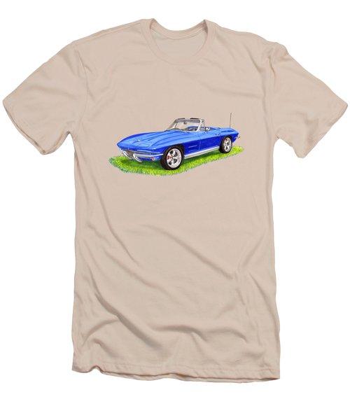 1964 Corvette Stingray Men's T-Shirt (Slim Fit) by Jack Pumphrey