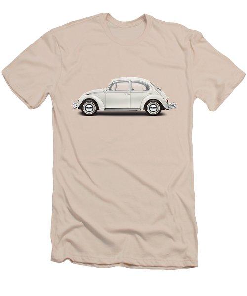 1966 Volkswagen 1300 Sedan - Pearl White Men's T-Shirt (Slim Fit) by Ed Jackson