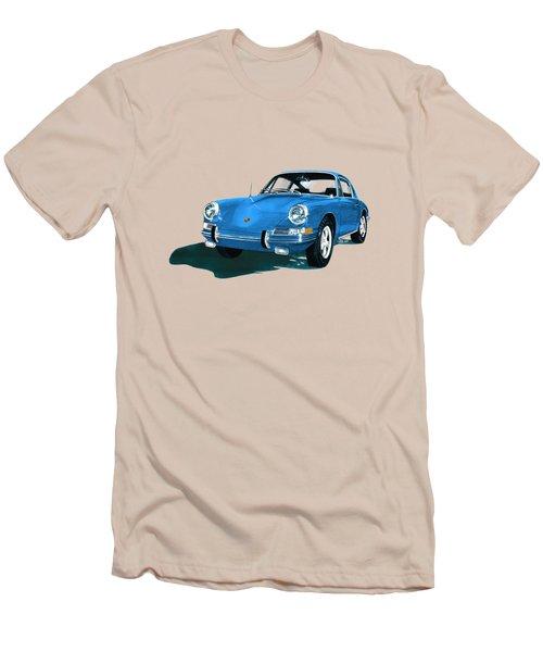 Porsche 911 1968 Men's T-Shirt (Slim Fit) by Jack Pumphrey