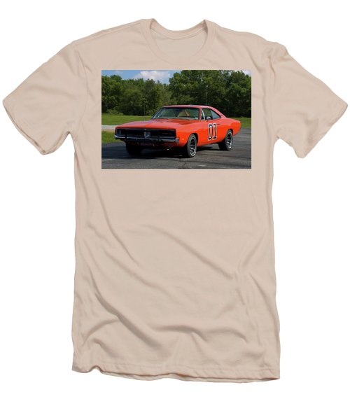 1969 Dodge Charger Rt Men's T-Shirt (Slim Fit) by Tim McCullough