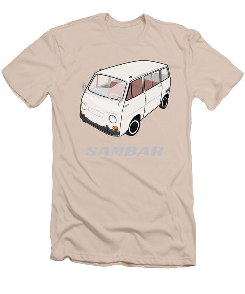 1970 Subaru Sambar Van Men's T-Shirt (Athletic Fit)