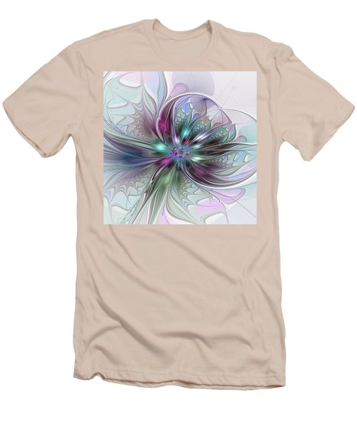 Abstract Art Men's T-Shirt (Athletic Fit)