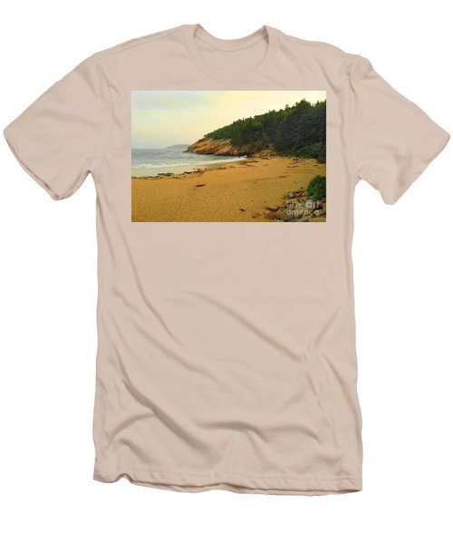 Acadia  Men's T-Shirt (Slim Fit) by Raymond Earley