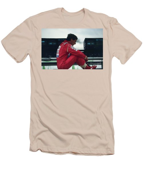 Ayrton Senna. 1992 French Grand Prix Men's T-Shirt (Athletic Fit)