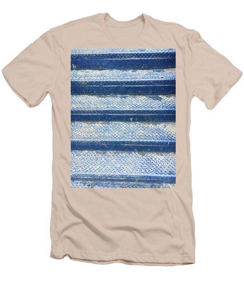 Blue Steps Men's T-Shirt (Athletic Fit)