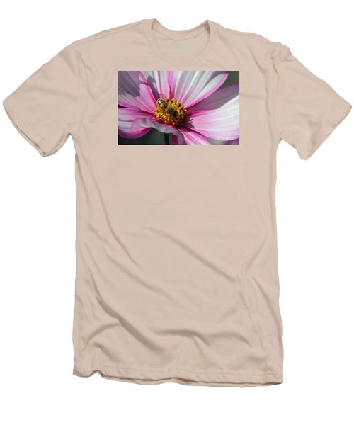 Busy Bee Men's T-Shirt (Slim Fit) by Yumi Johnson
