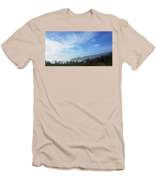 Cape Lookout Men's T-Shirt (Slim Fit) by Angi Parks