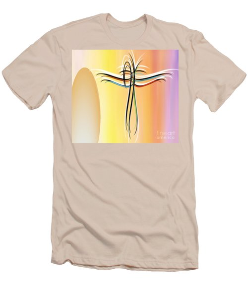 Freedom Men's T-Shirt (Slim Fit) by Belinda Threeths
