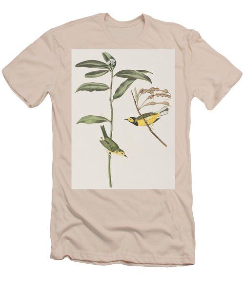 Hooded Warbler  Men's T-Shirt (Athletic Fit)