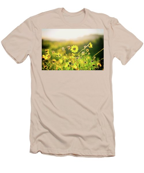 Nature's Smile Series Men's T-Shirt (Slim Fit)