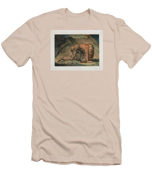 Nebuchadnezzar Men's T-Shirt (Slim Fit) by William Blake