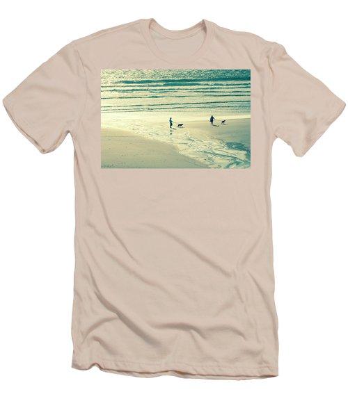 Oceanside Oregon Men's T-Shirt (Slim Fit) by Amyn Nasser