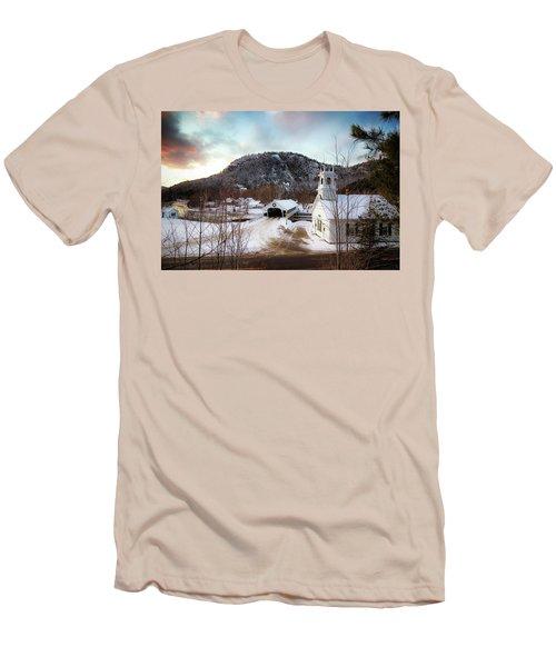 Stark New Hampshire Men's T-Shirt (Slim Fit) by Robert Clifford