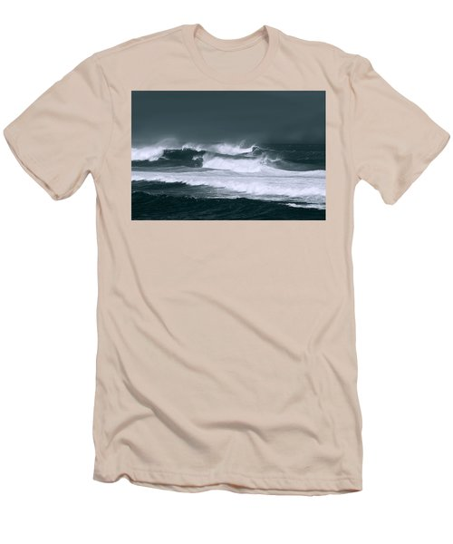 Stormy Seas Men's T-Shirt (Athletic Fit)