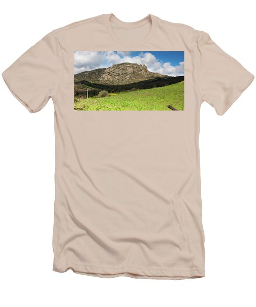 The Three Finger Mountain Men's T-Shirt (Athletic Fit)