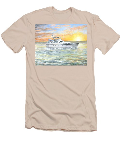 Untitled Men's T-Shirt (Slim Fit) by Bob George