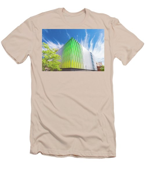 Men's T-Shirt (Slim Fit) featuring the photograph Modern Architecture by Hans Engbers