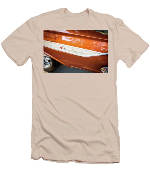 1961 Chevrolet Impala Ss  Men's T-Shirt (Slim Fit) by Rich Franco