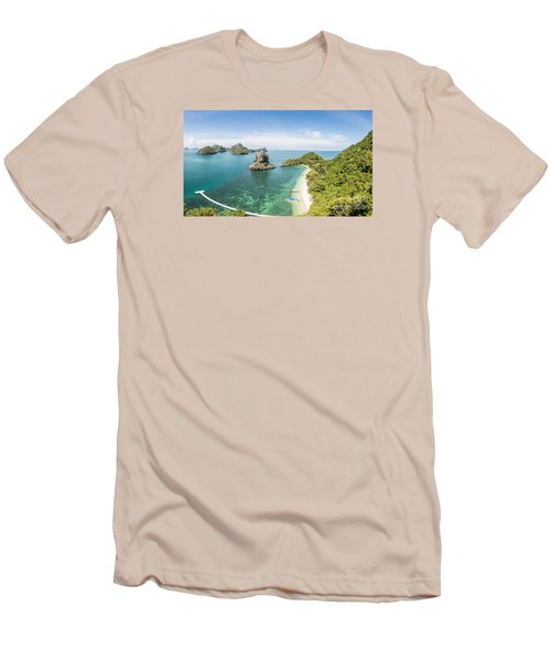 Ang Thong Marine National Park Men's T-Shirt (Athletic Fit)