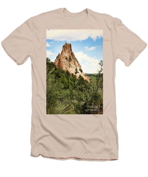 Colorado In Summer Men's T-Shirt (Athletic Fit)