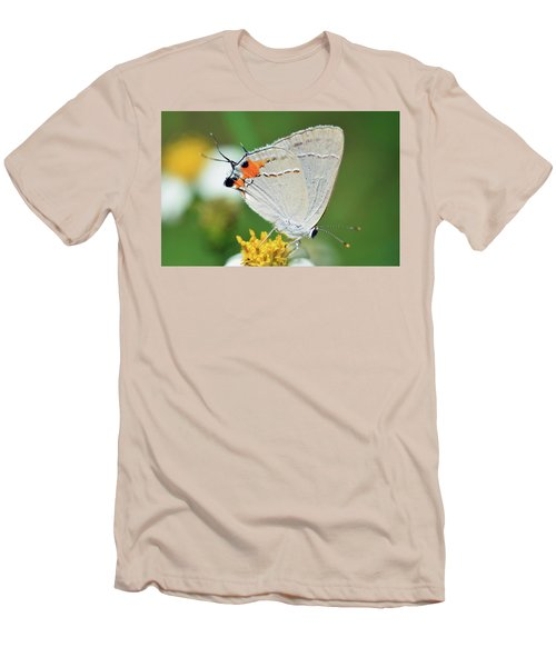 Hairstreak Men's T-Shirt (Athletic Fit)