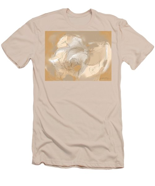 3 Horses Men's T-Shirt (Athletic Fit)