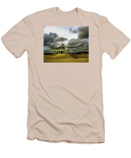 House At The End Of The Road Men's T-Shirt (Slim Fit) by Gordon Engebretson