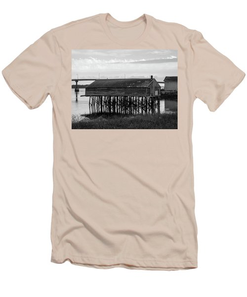 Lubec, Maine  Men's T-Shirt (Slim Fit) by Trace Kittrell