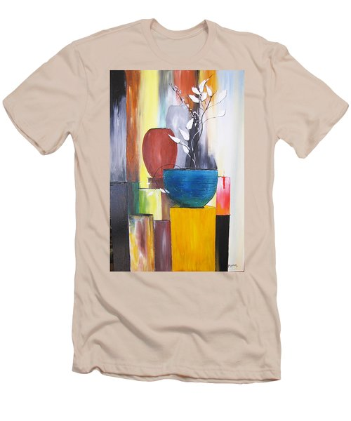 3 Vases Men's T-Shirt (Athletic Fit)