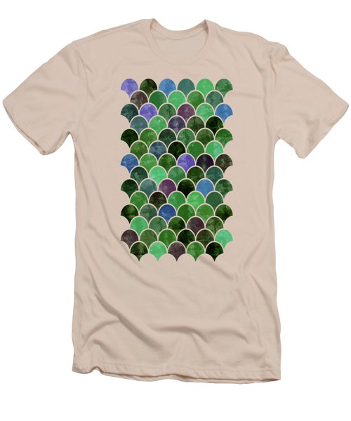 Lovely Pattern Men's T-Shirt (Slim Fit) by Amir Faysal