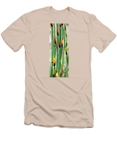 Men's T-Shirt (Slim Fit) featuring the photograph Bamboo Grass by Werner Lehmann