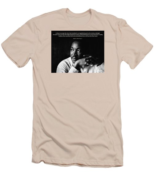 39- Martin Luther King Jr. Men's T-Shirt (Athletic Fit)