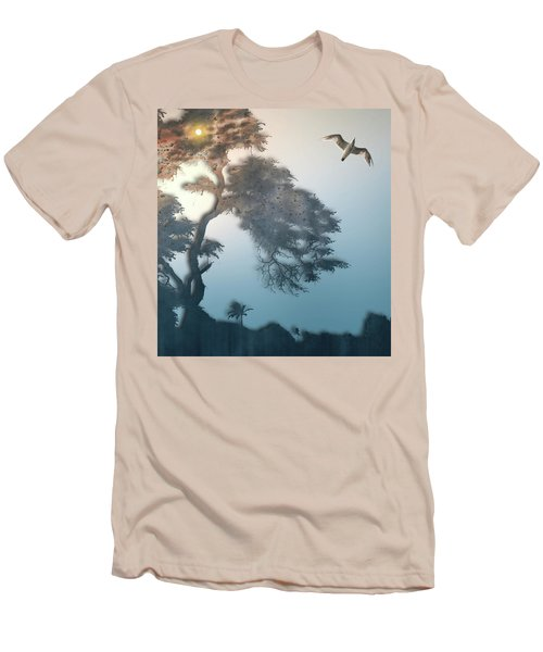 Men's T-Shirt (Slim Fit) featuring the photograph 4408 by Peter Holme III