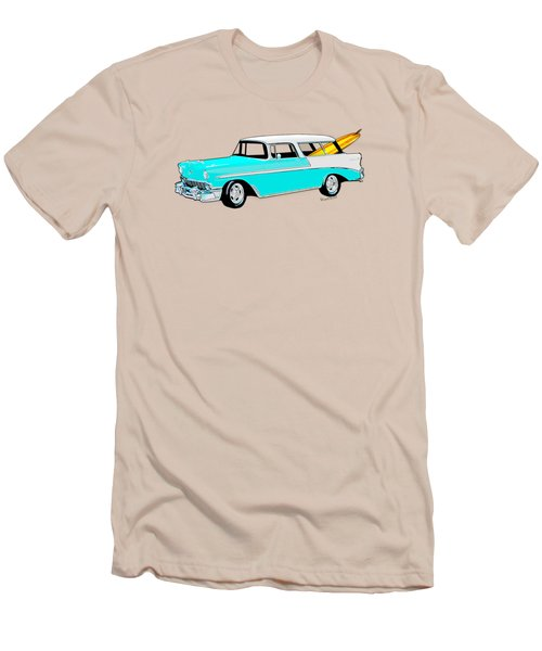 56 Nomad By The Sea In The Morning With Vivachas Men's T-Shirt (Athletic Fit)