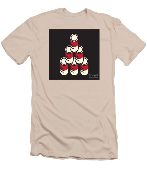 6 Soup Cans Men's T-Shirt (Athletic Fit)