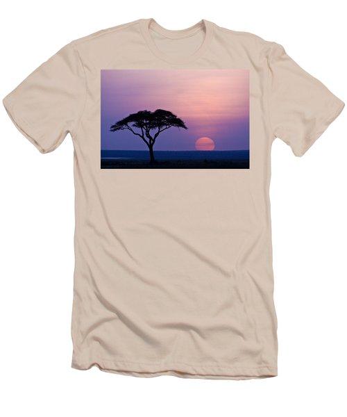 African Sunrise Men's T-Shirt (Athletic Fit)