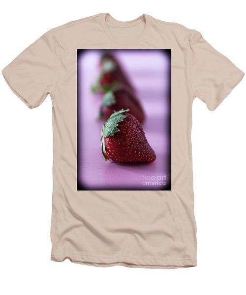 A Berry Delight Men's T-Shirt (Slim Fit) by Deborah Klubertanz