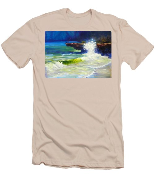 A Big Wave Men's T-Shirt (Athletic Fit)