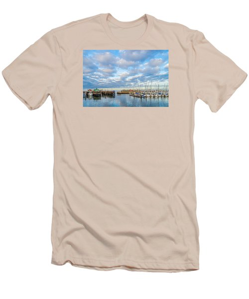 A Cloudy Day In Monterey Men's T-Shirt (Slim Fit) by Derek Dean