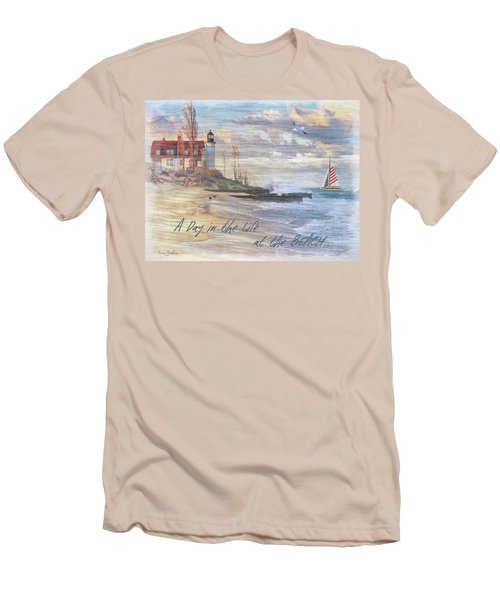 A Day In The Life At The Beach Men's T-Shirt (Athletic Fit)
