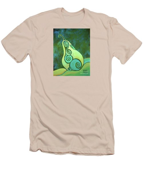 A Groovy Little Pear Men's T-Shirt (Athletic Fit)