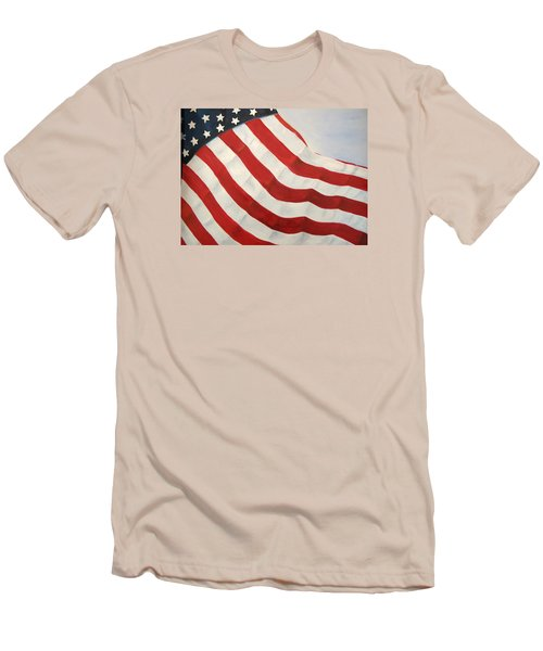 A Little Glory Men's T-Shirt (Slim Fit) by Carol Sweetwood