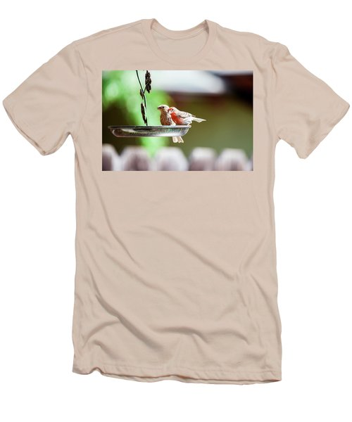 A Little Lunch Men's T-Shirt (Slim Fit) by Wade Courtney