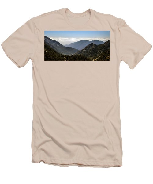 A Lofty View Men's T-Shirt (Slim Fit) by Ed Clark