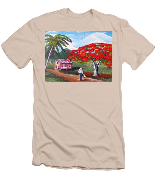 A Memorable Walk Men's T-Shirt (Athletic Fit)