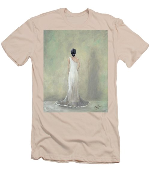 A Moment Alone Men's T-Shirt (Slim Fit) by T Fry-Green