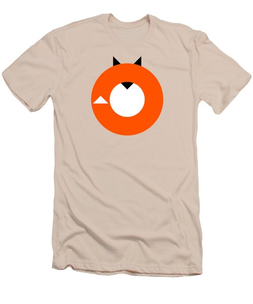 A Most Minimalist Fox Men's T-Shirt (Slim Fit) by Nicholas Ely