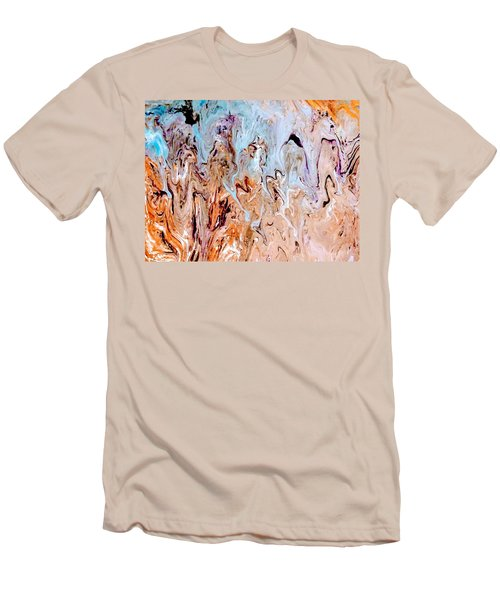 A Slice Of Earth Men's T-Shirt (Athletic Fit)