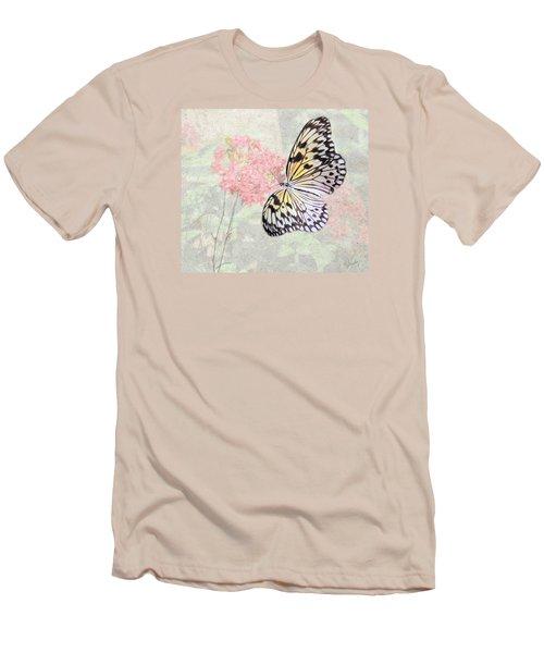 A Touch Of White Men's T-Shirt (Slim Fit) by Rosalie Scanlon