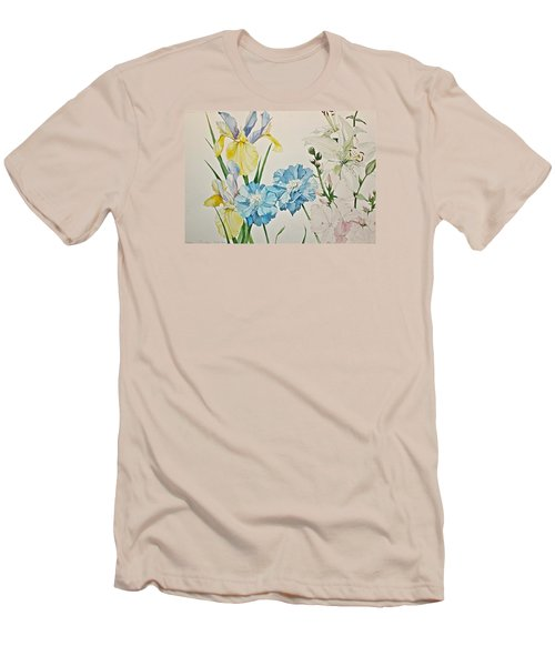 A Variety-posthumously Presented Paintings Of Sachi Spohn  Men's T-Shirt (Slim Fit)